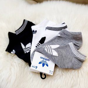 Pack 6 Adidas Womens No Show Sneaker Socks